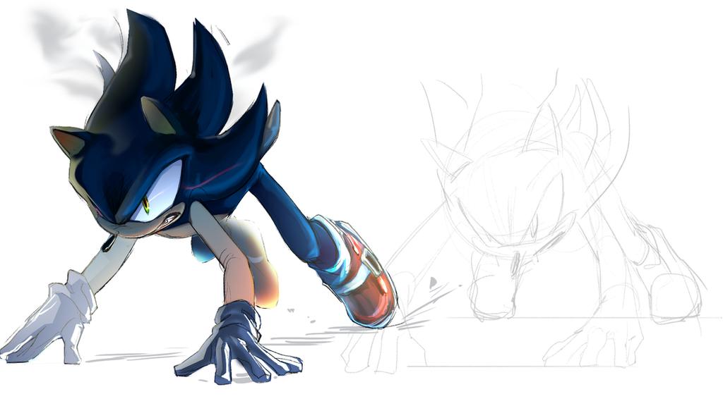 Dark Sonic by Legeh