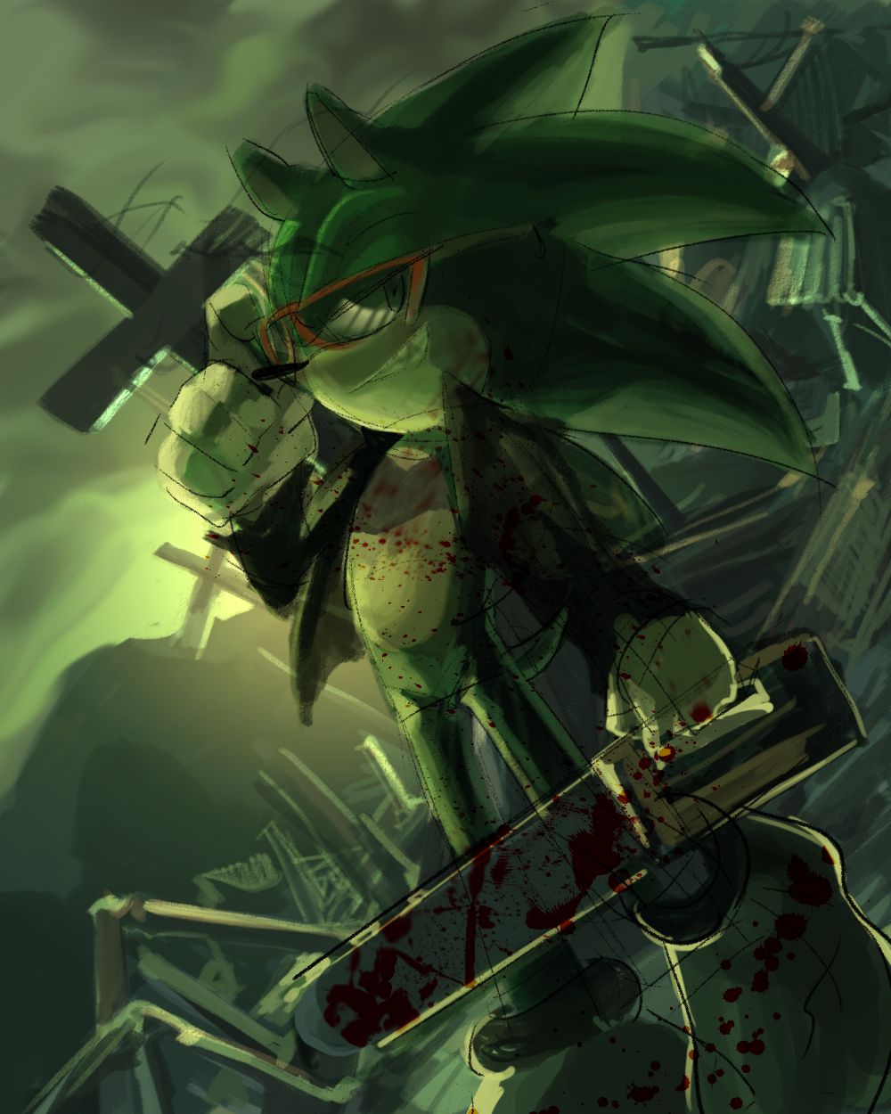 Scourge by Legeh