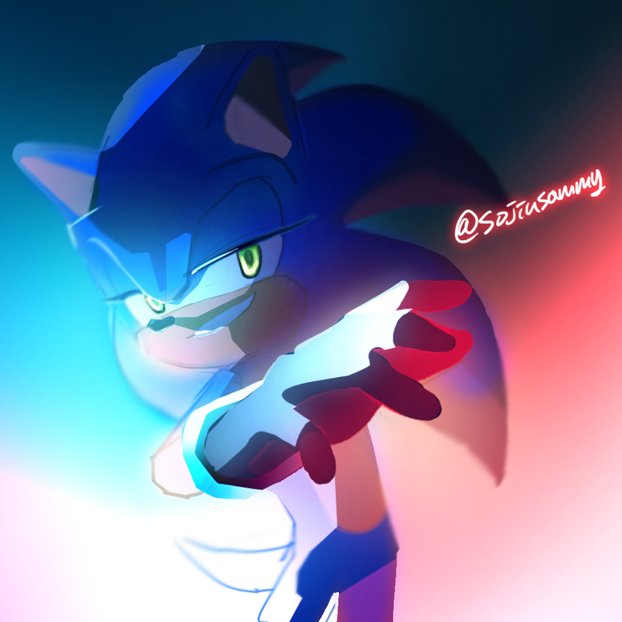 Sonic by Legeh