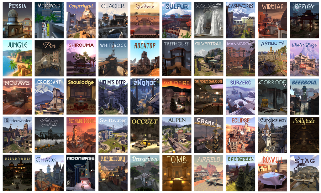 TF2 Community Map Awareness Quiltage