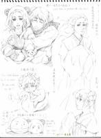 RoChu sketch 01 by Qingmu