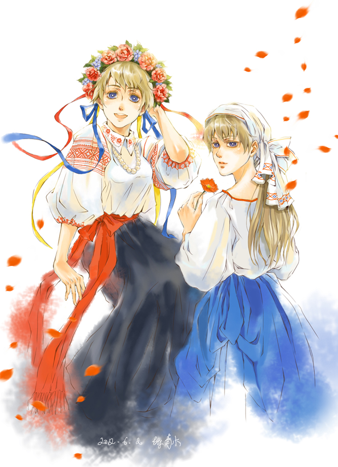 Slavic sisters by Qingmu
