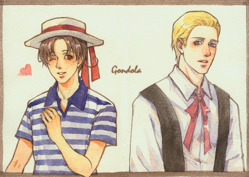 APH- Germany x Italy by Qingmu
