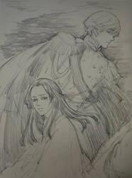 RoChu sketch 10 by Qingmu