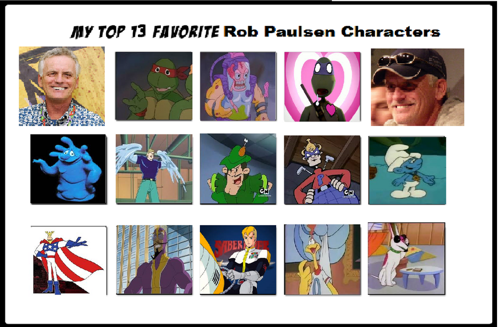 rob paulsen ustream