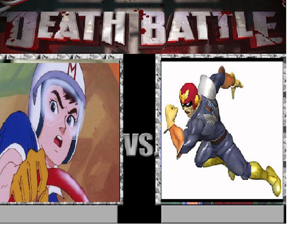 Speed Racer vs. Captain Falcon by Tatsunokoisthebest