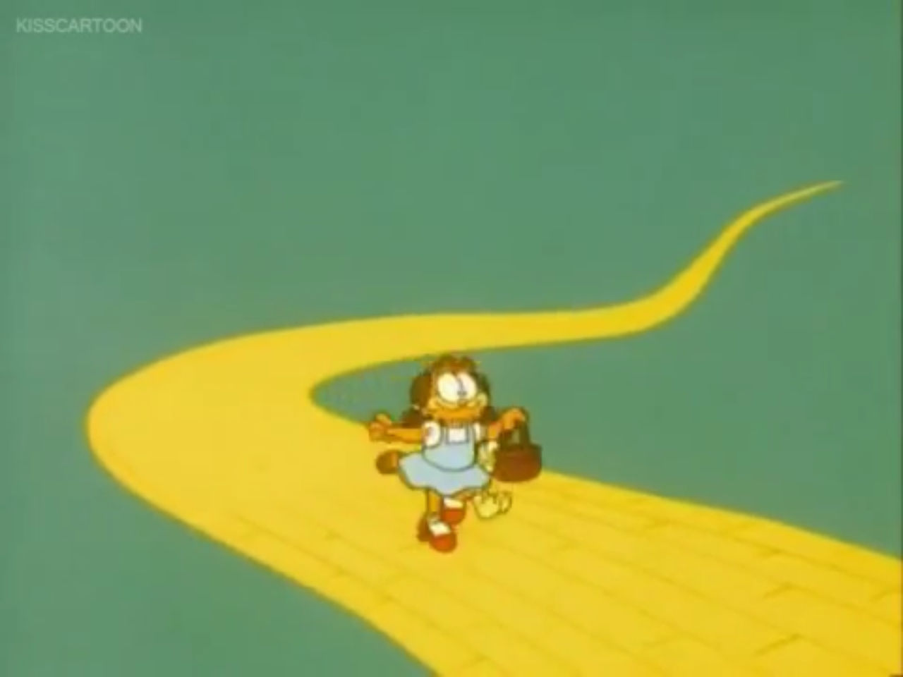 Garfield As Dorothy By Tatsunokoisthebest On Deviantart
