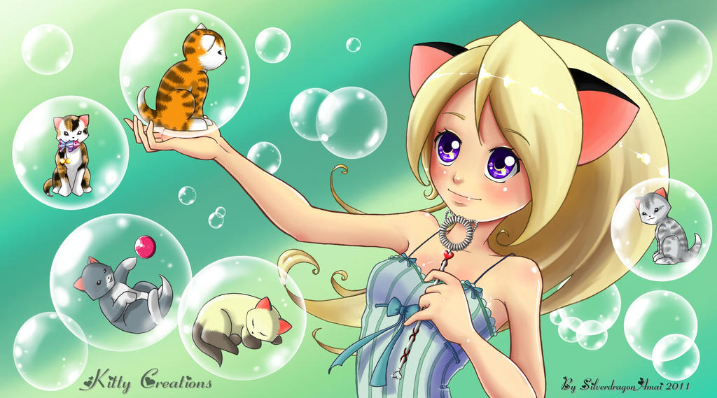 Kitty Creations by SilverdragonAmai