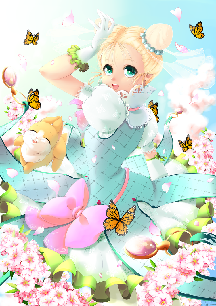 Springtime by SilverdragonAmai