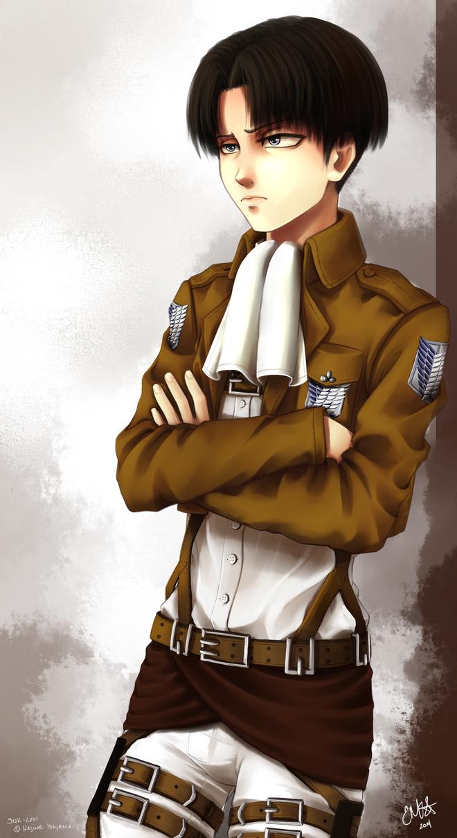 Captain Levi by SilverdragonAmai