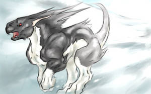 Snowy mortus run by BardicSpoon