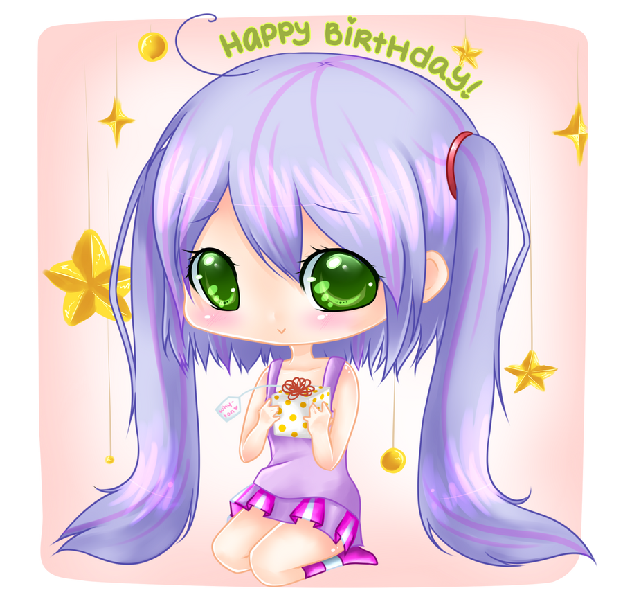 Happy Belated Birthday Why-tan! by bunnymonstur