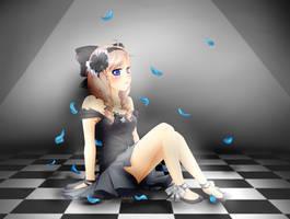 Gaia Commish: xLovelyWolfx by bunnymonstur