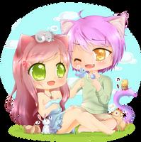 Commish: Guitongkuri by bunnymonstur