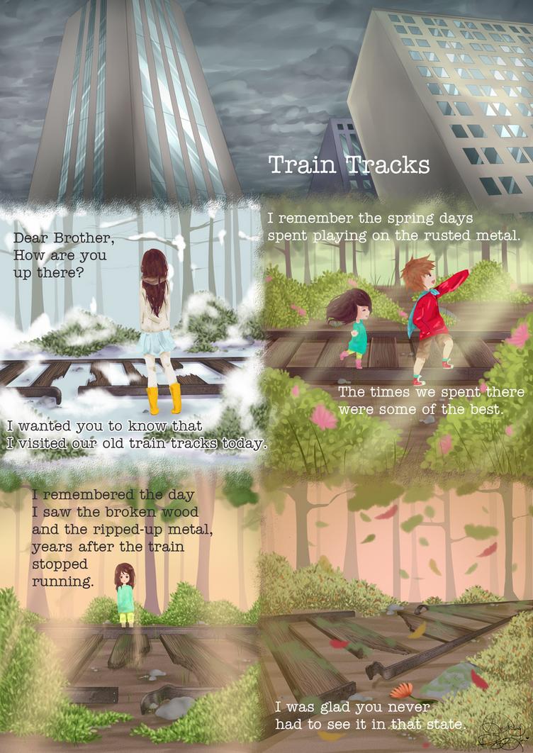 Train Tracks by bunnymonstur