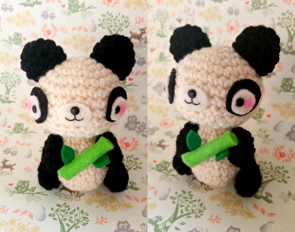 Kawaii Panda Amigurumi : Panda Amigurumi by artcrazy856 on DeviantArt