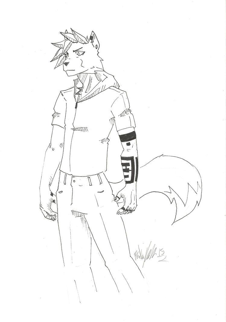 Character design Teru by Drakenyaze