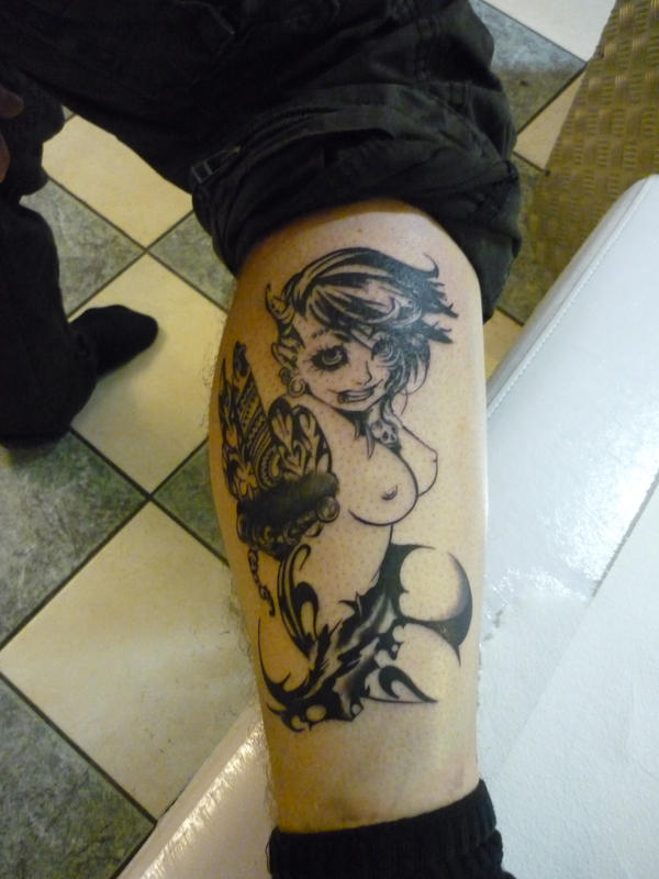 Labels: Tattoo devil by yurie777