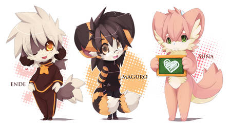 Chibi furry by maguro-chan