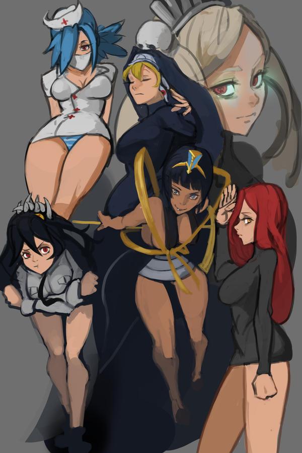 Skullgirls hot
