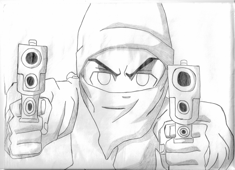gangsta riley by ogstatus07