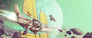 Junk spaceship