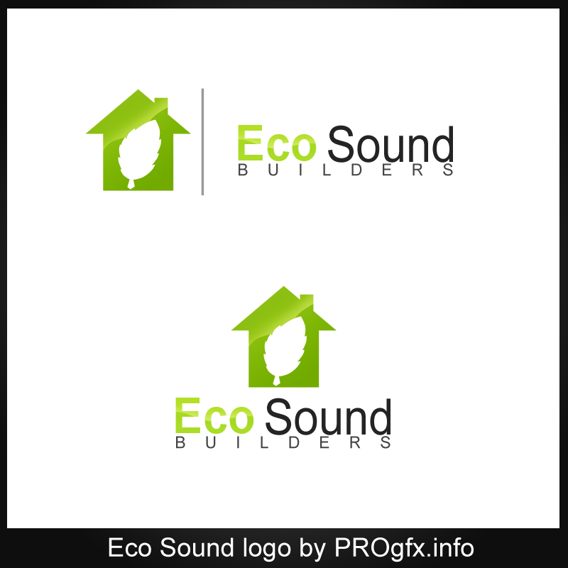 Eco Sound logo by Ionescualin