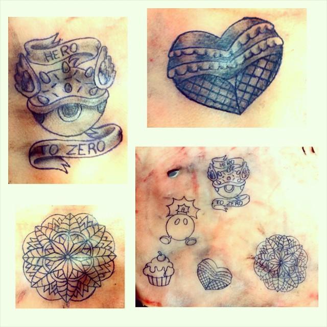 Here piggy pig by kaleidoscope tattoos on deviantart for Tattoo practice pig skin