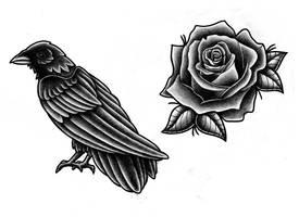 Darkness by kaleidoscope-tattoos