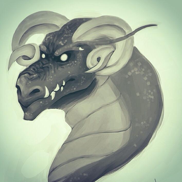 Dragon Speedpaint by GoldenDrakAngel