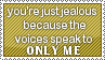 Stamp: You're Just Jealous by Raine-Rose