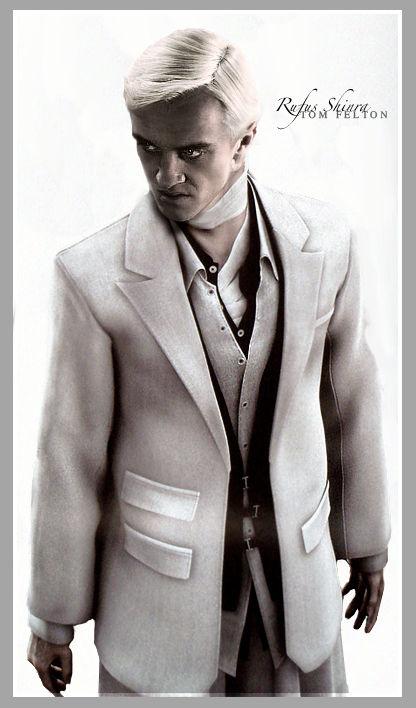 Tom Felton as...Rufus ShinRa?
