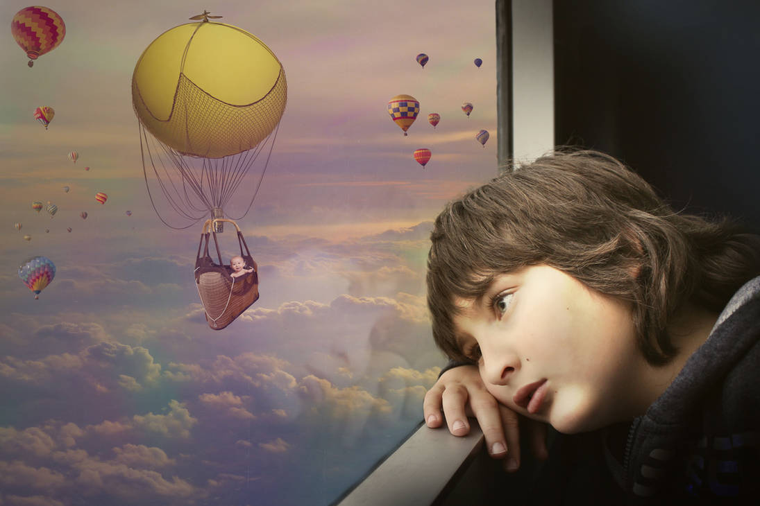 Reality vs Dreams by CuzImaJellyfish