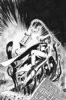 Lantern in deep trouble by hakantacal