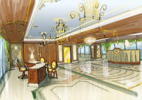 Lobby by hakantacal