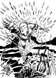 Aquaman by hakantacal