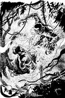 Commisson: Swamp Fight