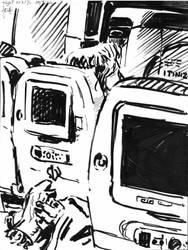 NY sketches 1 by hakantacal