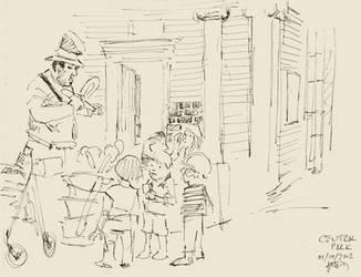NY sketches 3 by hakantacal