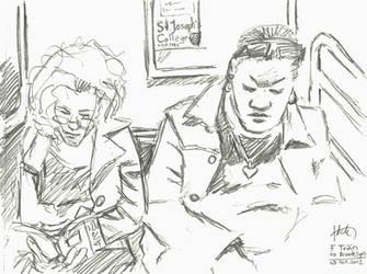 NY sketches 4 by hakantacal