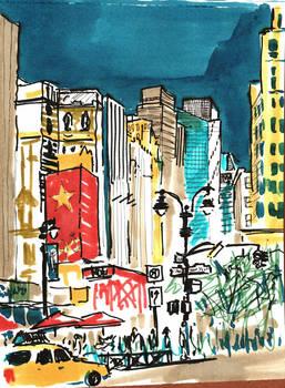 NY sketches 5