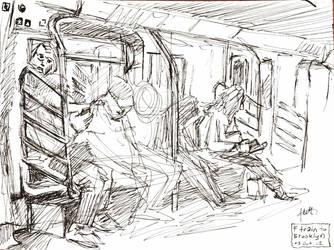 NY sketches 6 by hakantacal