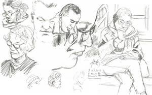 NY sketches 8 by hakantacal