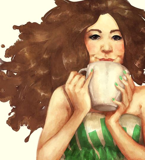 art trade: ecoffee by ris-m