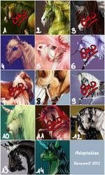 Adopt My Horses (OPEN - 5 left)