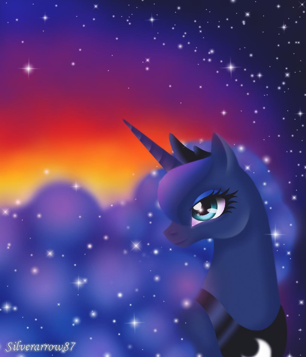 Luna's sunrise by Silverarrow87