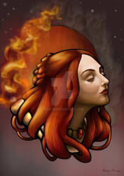 The Lady of Fire