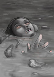 Random sketch - could be Ophelia...?
