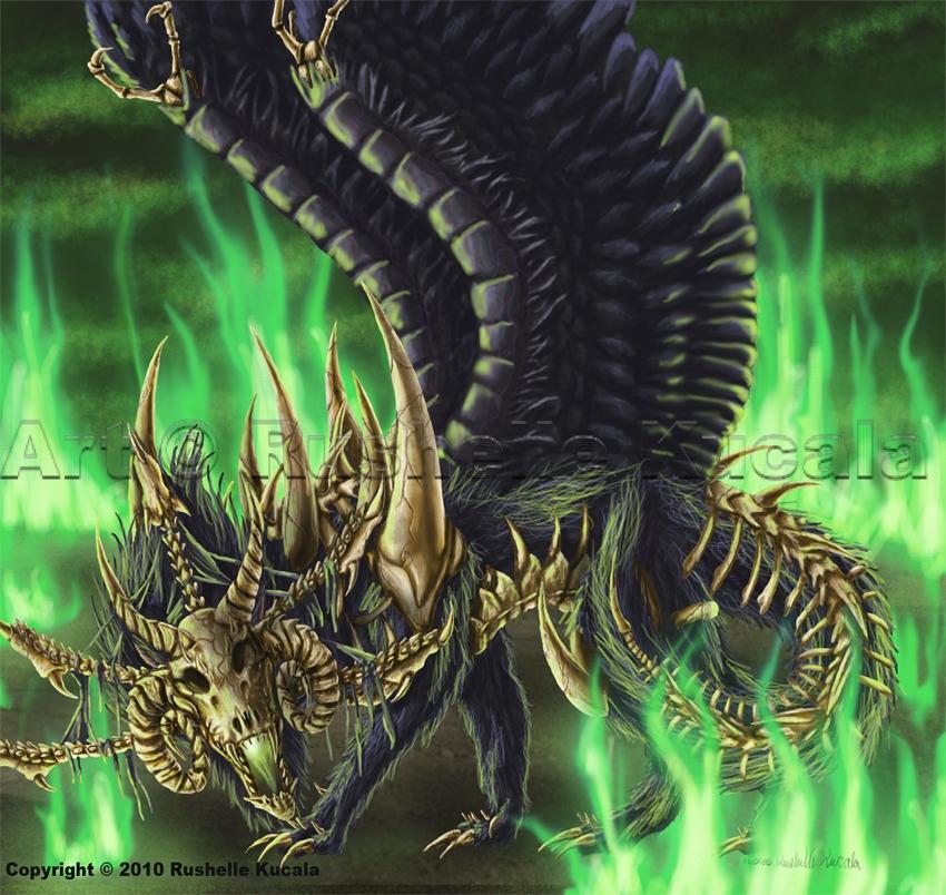 Elder Morlock Queen by TheDragonofDoom