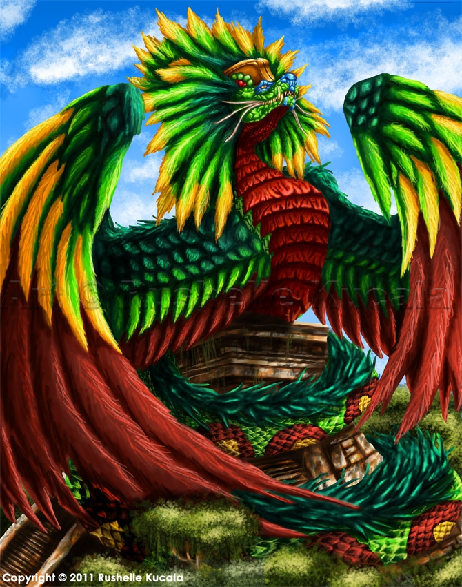 Quetzalcoatl by TheDra...